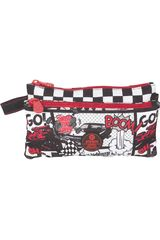 Xtrem Rojo / negro de Niño modelo pencil box car race trinity 841 Cartucheras