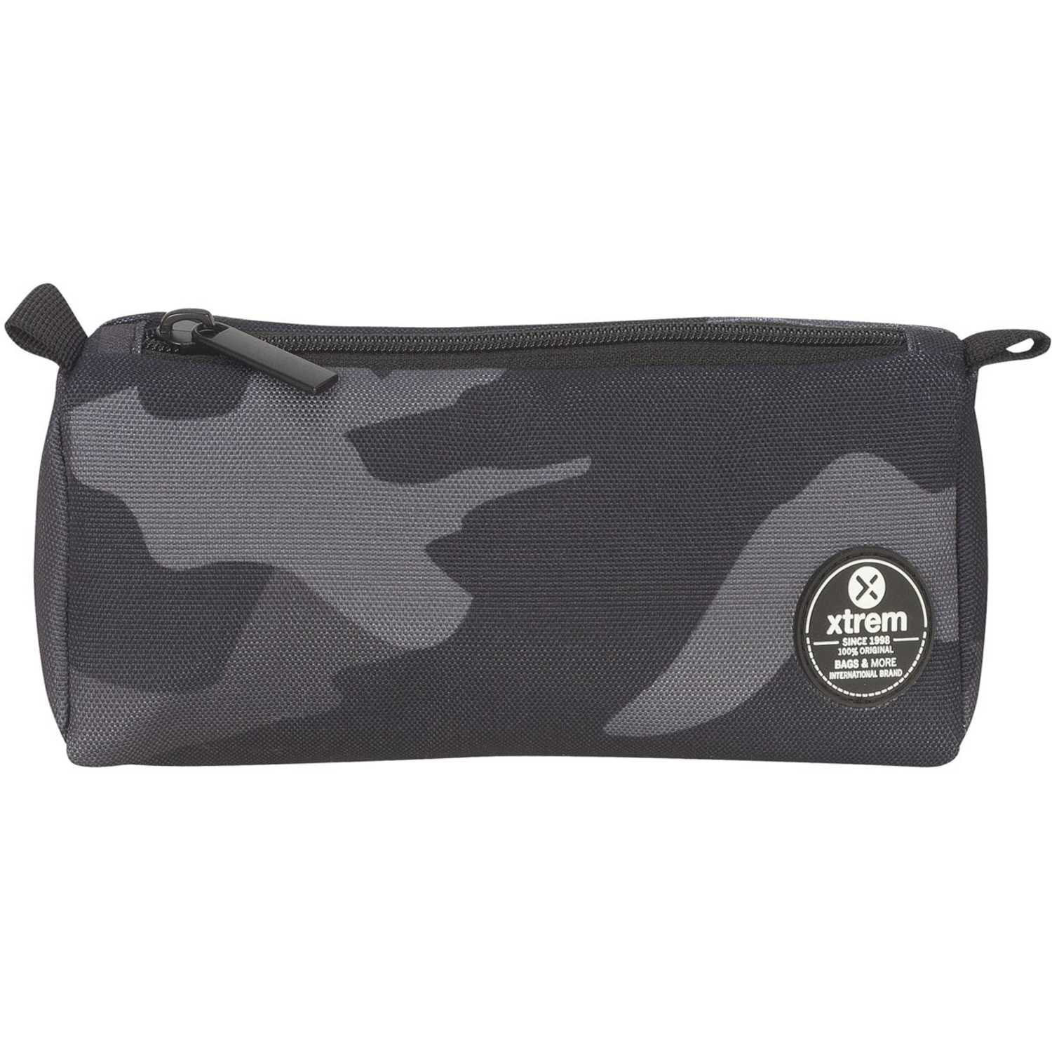 Cartuchera de Niño Xtrem Camuflado pencil box black camouflage crush 843