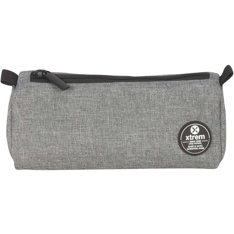 Cartuchera de Niño Xtrem Gris pencil box melange grey crush 843