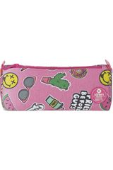 Xtrem Rosado de Niña modelo pencil box pink patches crush 843 Cartucheras