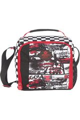 Xtrem Rojo / negro de Jovencito modelo lunch bag car race lunch 844 Loncheras
