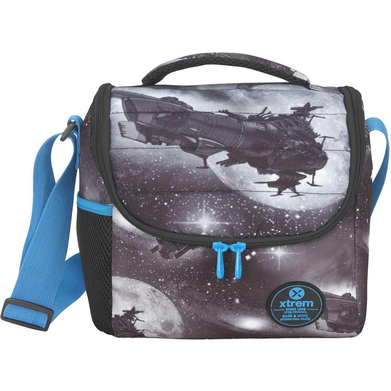 Lonchera de Niño Xtrem Negro lunch bag spaceship break 846