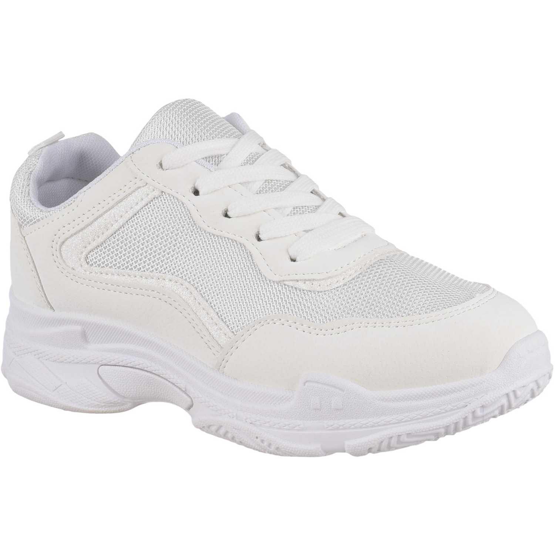 Zapatilla de Mujer Platanitos Blanco z 02