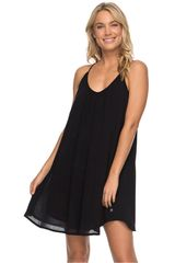 Roxy Negro de Mujer modelo great intentions Casual Vestidos