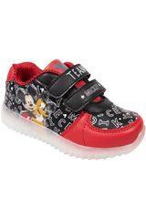 Mickey Negro de Niño modelo 2mc26200001 Casual Deportivo Urban Walking Zapatillas Zapatillas casual