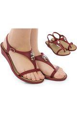 Sandalia de Mujer Grendha Rojo exuberance sand plat ad