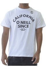 Polo de Hombre ONEILL Blanco lm sunset t-shirt