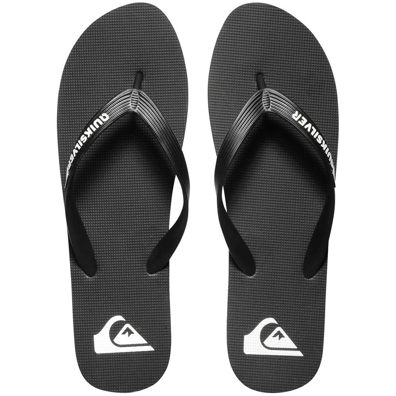 Sandalia de Hombre Quiksilver Plomo/blanco molokai