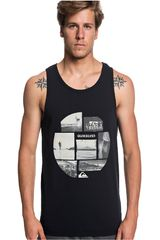Quiksilver Negro / blanco de Hombre modelo photo mix tank Bividis Deportivo