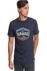 Quiksilver Acero de Hombre modelo hawaii money Polos Deportivo