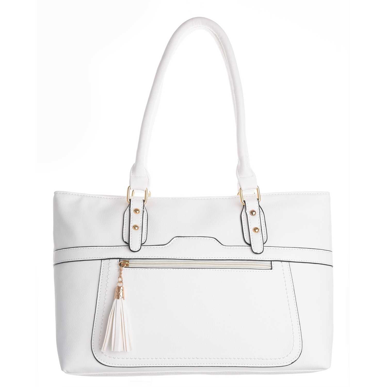 a975c5182 Cartera Casual de Mujer Platanitos Blanco 013   platanitos.com