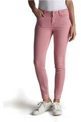 Octodenim Rosado de Mujer modelo davna Casual Pantalones Jeans