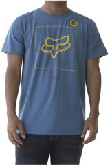 Fox Azul / amarillo de Hombre modelo crass ss airline Deportivo Polos
