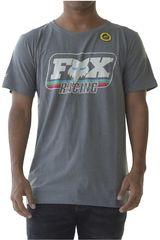 Fox Plomo de Hombre modelo throwback ss Deportivo Polos