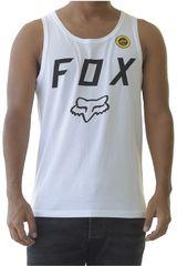 Fox Blanco / negro de Hombre modelo legacy moth tank Deportivo Polos