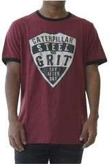 CAT Ladrillo de Hombre modelo steel and grit tee Deportivo Polos