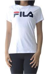 Fila Blanco / azul de Mujer modelo women t-shirt letter new Deportivo Polos