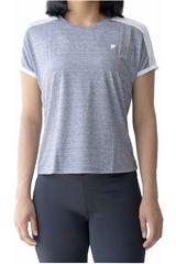 Fila Gris / blanco de Mujer modelo women blouse mesh Polos Deportivo