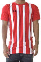 Under Armour Rojo de Hombre modelo UA Andes Jersey Deportivo Polos