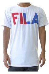 Fila Blanco / azul de Hombre modelo men t-shirt new logo Deportivo Polos