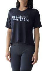 Fila Negro / blanco de Mujer modelo women blouse biella Deportivo Polos