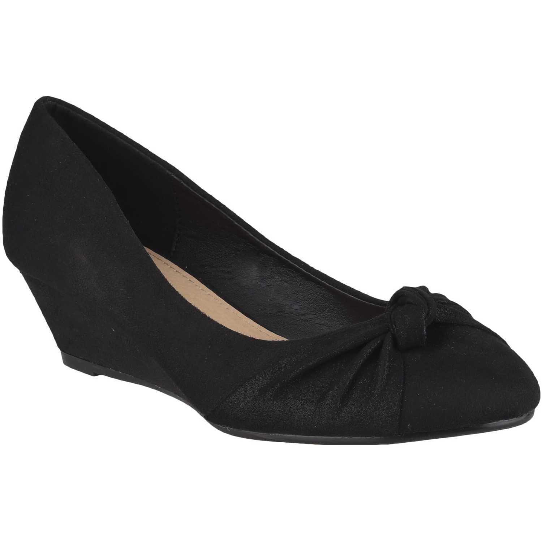 Calzado de Mujer Platanitos Negro cw 5a04