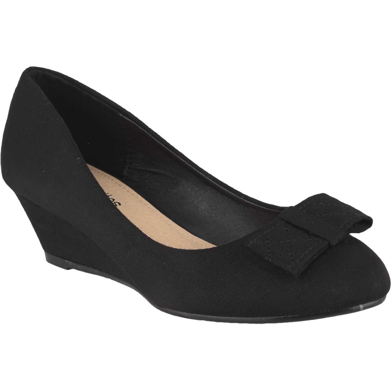 Calzado de Mujer Platanitos Negro cw 5b01