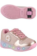 Barbie Dorado de Niña modelo 2ar38800001 Casual Zapatillas Urban Walking Deportivo