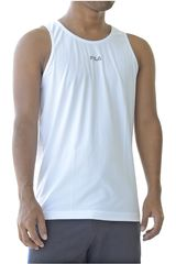 Fila Blanco / negro de Hombre modelo men tank top basic train Bividis Deportivo