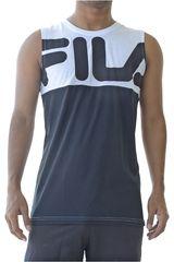 Fila Blanco / negro de Hombre modelo men tank top block letter Bividis Deportivo