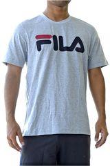 Fila Plomo / gris de Hombre modelo men t-shirt letter Deportivo Polos