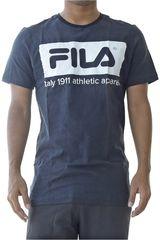 Fila Negro / blanco de Hombre modelo men t-shirt mattia Polos Deportivo