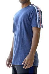 Fila Azul / blanco de Hombre modelo men t-shirt college Polos Deportivo