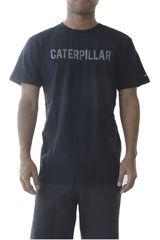 CAT Negro de Hombre modelo brand tee Casual Polos