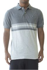 CAT Gris / blanco de Hombre modelo additions polo Polos Casual