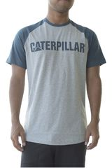 CAT Gris de Hombre modelo logo team tee Polos Casual