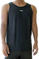 Fila Negro de Hombre modelo men tank top basic train Bividis Deportivo