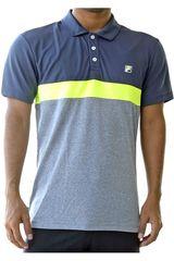 Fila Plomo / gris de Hombre modelo men polo shirt block melange ii Deportivo Polos