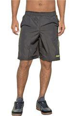 Short de Hombre Fila Negro / amarillo men long shorts master