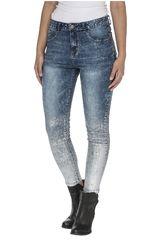 CAT Celeste de Mujer modelo symbol jegging Pantalones Casual Jeans