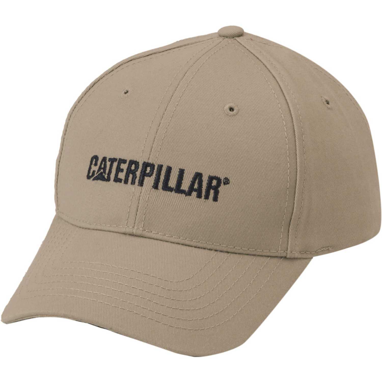 Gorro de Hombre CAT Beige caterpillar logo hat