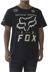 Fox Negro / blanco de Hombre modelo murc fctry ss tech Deportivo Polos