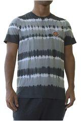 Dunkelvolk Gris de Hombre modelo zebra Polos Casual