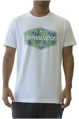 Dunkelvolk Blanco de Hombre modelo palms Casual Polos