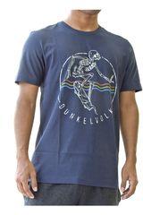 Dunkelvolk Azul oscuro de Hombre modelo skull Casual Polos