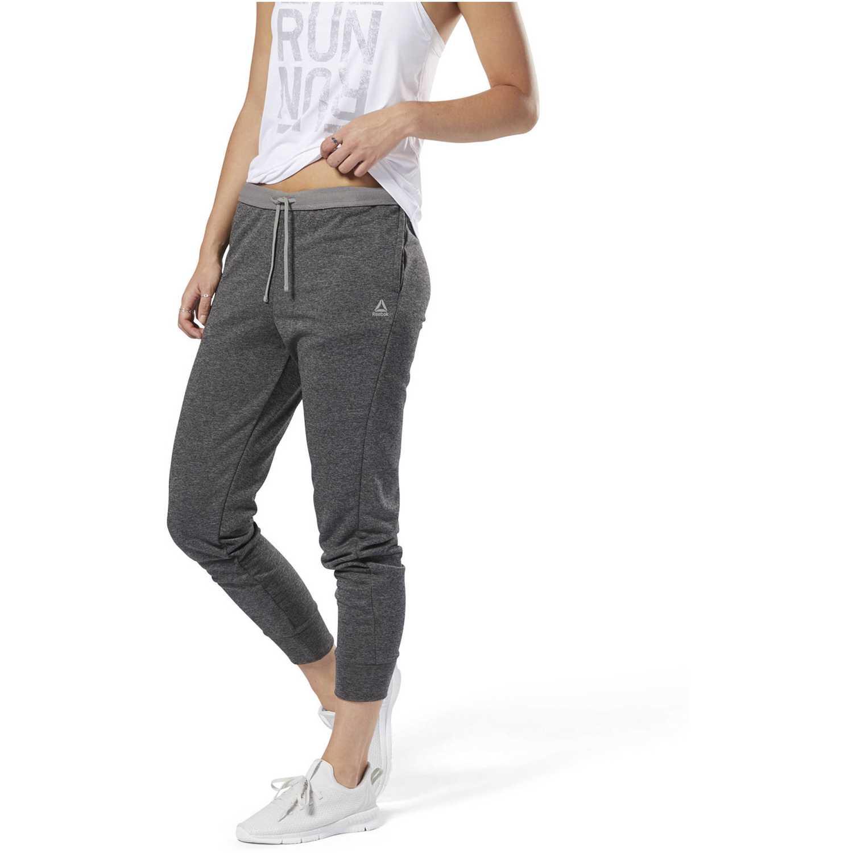 Pantalón de Mujer Reebok Plomo run  jogger