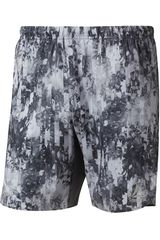 Reebok Gris de Hombre modelo run 7 inch short Shorts Deportivo