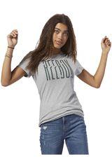 Reebok Gris de Mujer modelo gs opp reebok tee Deportivo Polos