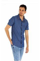 COTTONS JEANS Azul de Hombre modelo ricardo Casual Camisas
