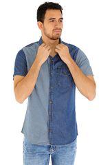 COTTONS JEANS Azul / celeste de Hombre modelo arturo Casual Camisas